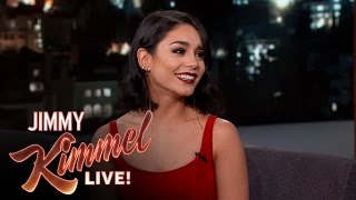 "Vanessa Hudgens on Doing ""Grease: Live"