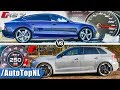 Audi RS7 vs RS3 | ACCELERATION TOP SPEED & SOUND | AUTOBAHN POV by AutoTopNL MP3