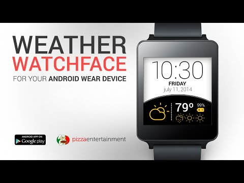 Weather Watch Face APK Cover