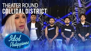 """Collidal District sings """"Iris"""" at Theater Round 