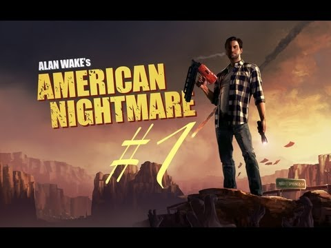 Alan Wake American Nightmare: Live Playthrough - Part 1