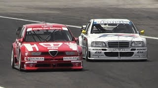1994 Alfa Romeo 155 V6 Ti DTM & Mercedes C-Class DTM Reunited on Track!