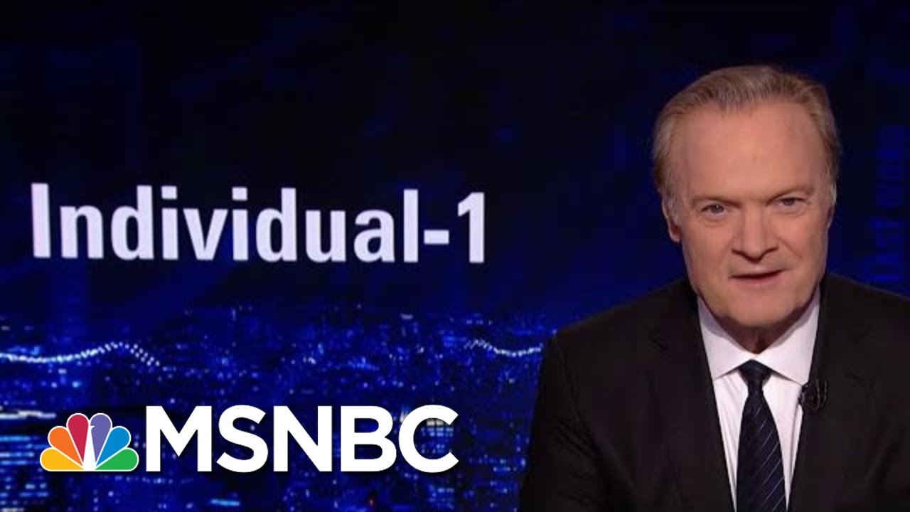 Prosecutors: Cohen Committed Crimes At The Dir Of 'Individual-1' Aka Trump | The Last Word | MSNBC
