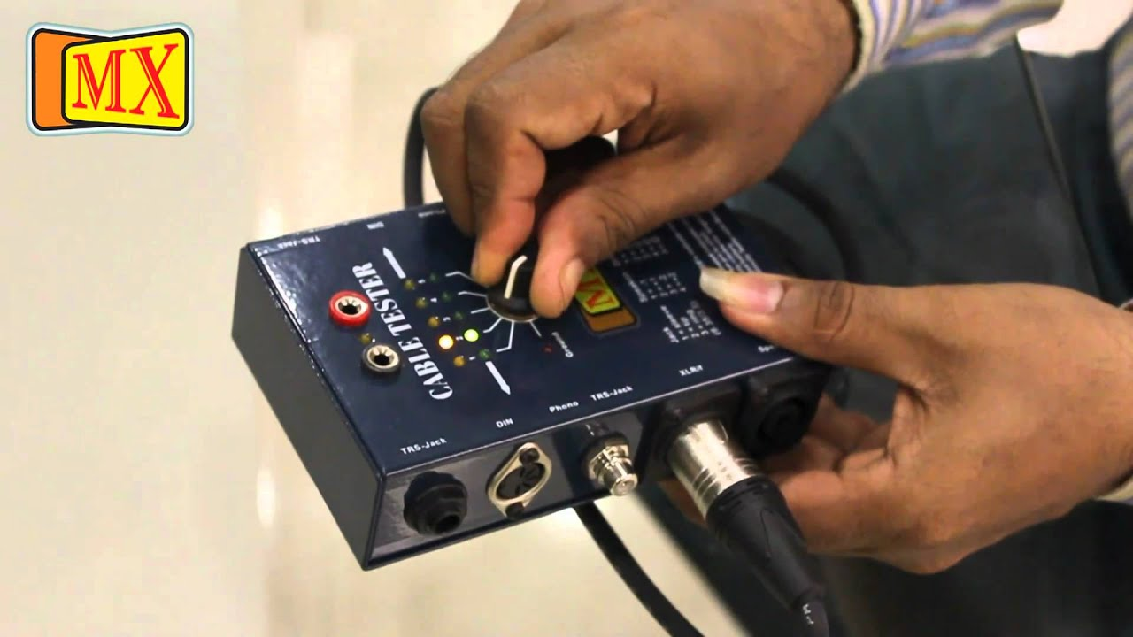Audio Cable Tester Audio Cable Tester