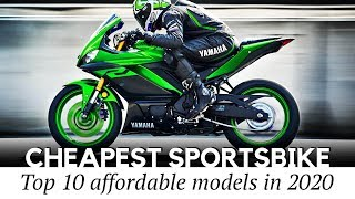Top 10 Cheapest Sport Motorcycles and Lightweight Naked Bikes to Buy