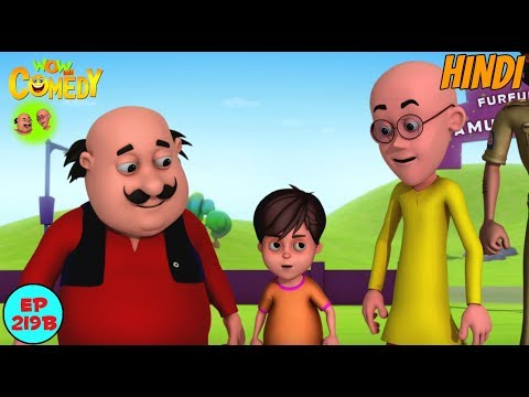 Amusement Park Mein Dhamal - Motu Patlu in Hindi - 3D Animated cartoon series for kids - As on Nick thumbnail
