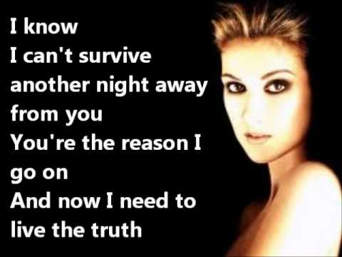 Celine Dion - I SURRENDER+LYRICS