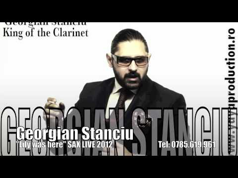 Sonerie telefon » Georgian Stanciu – Lily was here (Sax Live 2012)