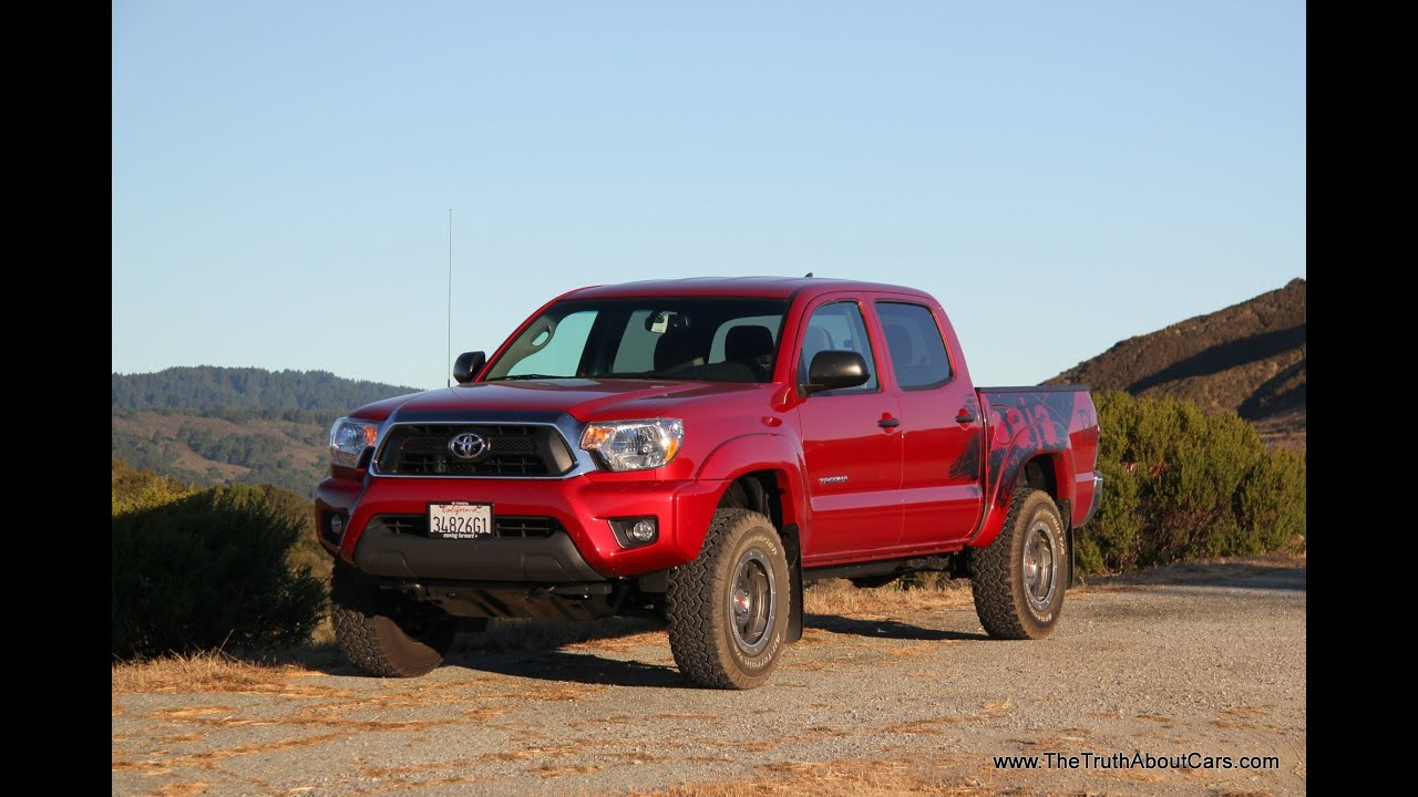 2012 2014 Toyota Tacoma Trd T X Baja Edition Review And