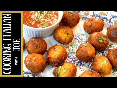 Crazy Delicious Fried Cheese Balls Cooking Italian with Joe