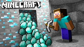 PS4-MINECRAFT SURVIVE DIAMOND HUNTERS