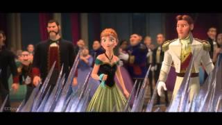Frozen- Elsa Flees From Arendelle Clip (HD)