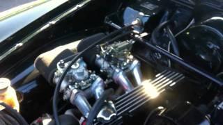 Modified Volvo Amazon B20 R-Sport engine with twin webers