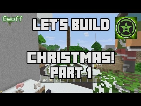 Let's Build in Minecraft - Christmas Part 1