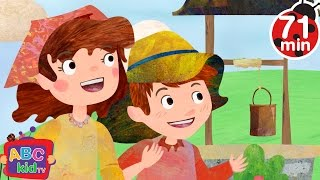 Jack and Jill (2D) | +More Nursery Rhymes & Kids Songs - Cocomelon (ABCkidTV)