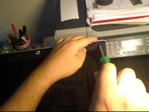 Reparar una avería en el monitor de un portátil