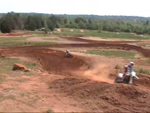 Zach Thurston KX250F Kawasaki at Big Cedar Motocross in Alabama Video