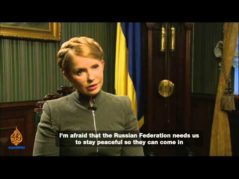 Talk to Al Jazeera - Yulia Tymoshenko: 'Kremlin has declared war'