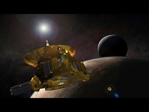 NASA discusses New Horizons mission