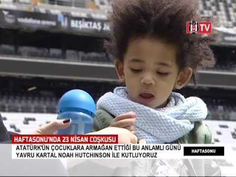 Noah   Hutchinson ilk kez Vodafone Arena'da