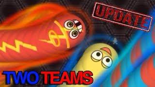 Wormate.io [UPDATE] New Game Mode 2 Teams-Arena Wormateio Epic Gameplay
