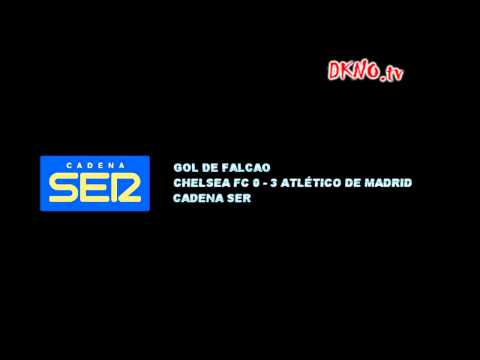 Narración radiofónica - Goles - Chelsea FC vs Atlético de Madrid - FINAL Supercopa de Europa 2012