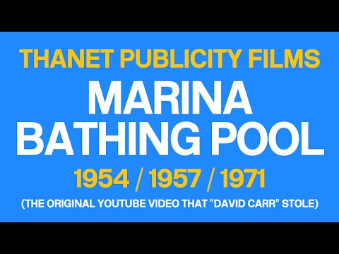 Marina Bathing Pool (Ramsgate, Kent) 1954 / 1957 / 1971