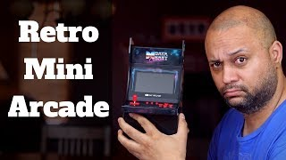 My Arcade Data East mini player review and unboxing