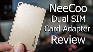 NeeCoo Dual SIM Card Adapter Review | iPhone