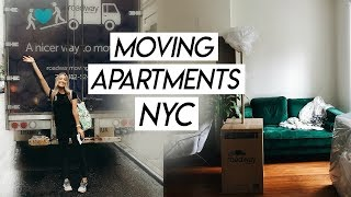 NYC MOVING VLOG! Moving from Brooklyn to Manhattan!