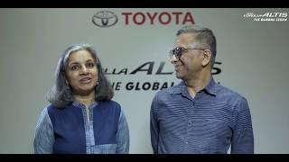 Toyota Corolla Altis | Customers Meet | Ashwini & Anuja Kumar