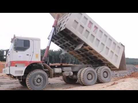 PA Mining Dump Truck At Work - Senta 86T/Senta 63T