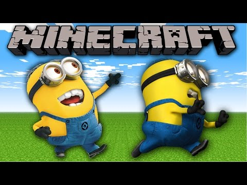 Minecraft Mods : MINION DASH! Modded Race (Despicable Me Mod / Morph Mod)