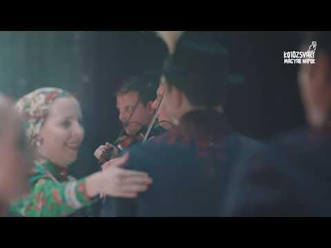 Kolozsvári piactéren – a Magyar Állami Népi Együttes tánckarának és zenekarának bemutató előadása