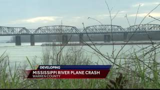 Plane crash in the Mississippi River