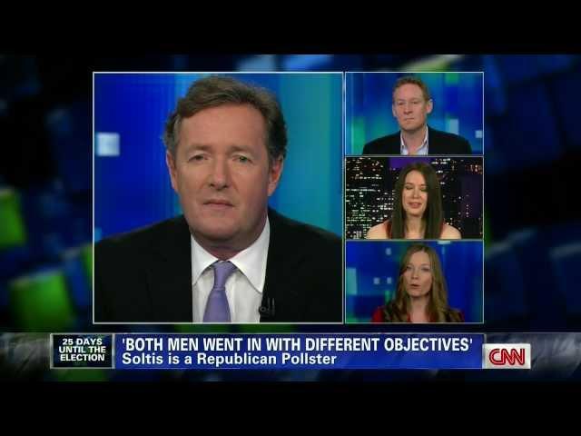 Carol Roth on Vice Presidential Debate w Piers Morgan CNN Election