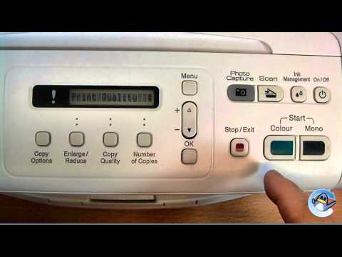 How to do a Test Print on Brother DCP-195C/DCP-197C Printer