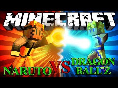 Minecraft Naruto Mod vs Dragon Ball Z Mod Mod Battles #2