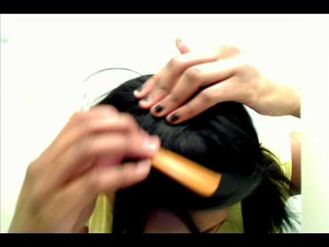 FULL HEAD Sew in Tutorial Part 4 - CLOSING a Weave