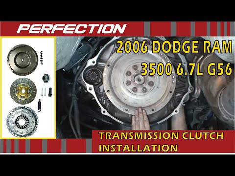 Dodge Ram 2008 6.7L G56 Transmission Clutch Installation