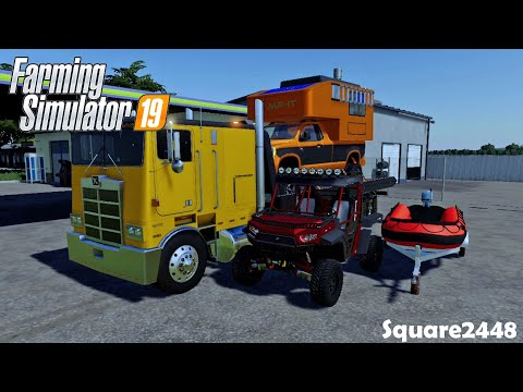 Repoing On The Xbox One! | UTV | BOAT | Truck Camper | Griffin, Indiana | FS19