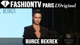 Burce Bekrek Spring/Summer 2015 | Mercedes-Benz Fashion Week Istanbul | FashionTV