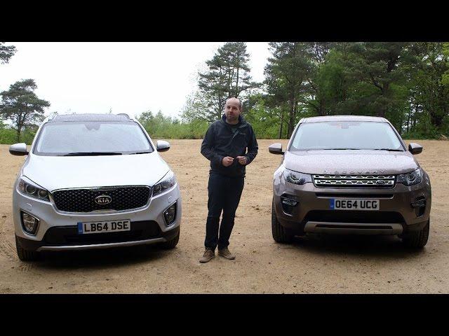 Land Rover Discovery Sport vs Kia Sorento   TELEGRAPH CARS