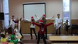 New Year Dance 2016 - Let It Snow  (Jessica Simpson) - ZUMBA