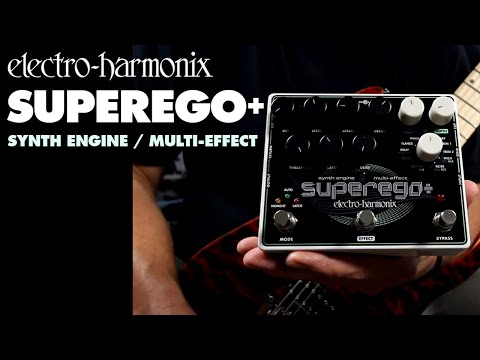 Electro-Harmonix SUPEREGO+  Synth Engine/Multi Effect