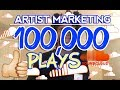 Artist Marketing - How To GET 100K Plays on SOUNDCLOUD Fast MP3