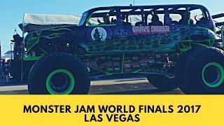 Monster Jam World Finals 2017 XVIII Las Vegas, NV Sam Boyd Stadium 25 Years Anniversary Parade