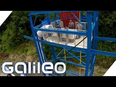 Erste vertikale Loopingrutsche der Welt | Galileo Lunch Break