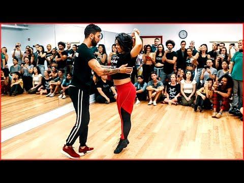 Fantastic Brazilian Zouk Dance by Thayná Trovick & Léo Chaffe | New York City Zouk Festival 2019