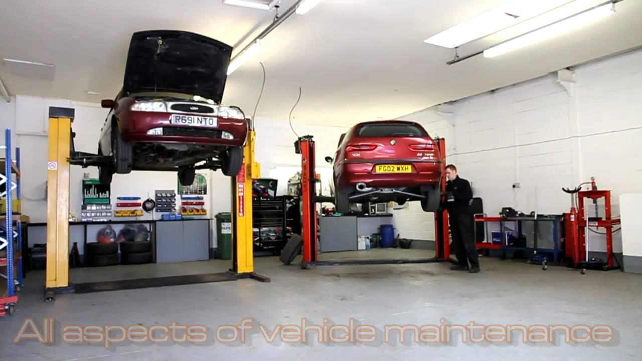 Complete auto repair vehicle repair garage derby for Garage bms auto